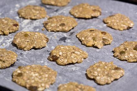 Biscuiti din cereale pentru micul dejun