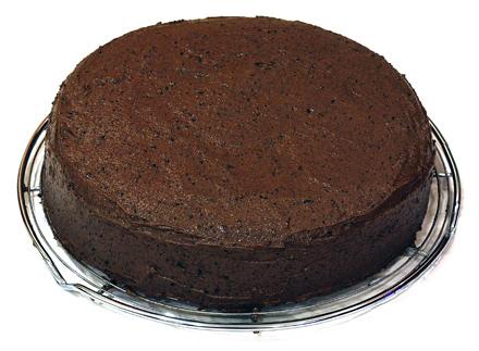tort glazurat cu crema de cafea