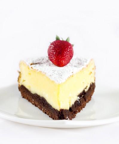 Sugestie de prezentare cheesecake