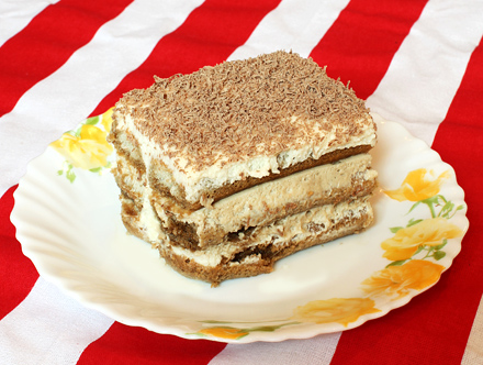 Tiramissu - prajitura cu branza mascarpone