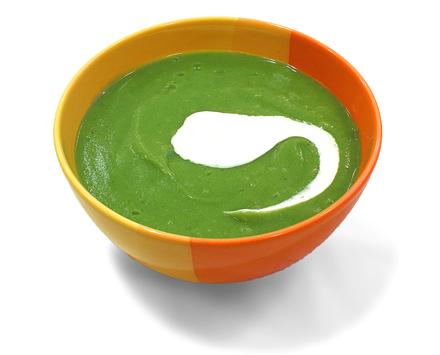 supa crema de brocoli cu smantana