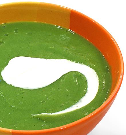 supa crema de legume - brocoli, cartof, ceapa