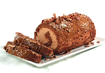 Rulada cu Ciocolata... cu muuuuulta ciocolata
