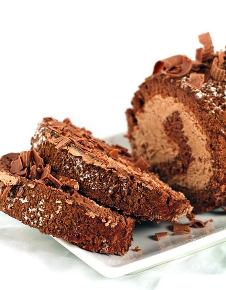 Reteta Rulada cu Ciocolata... cu muuuuulta ciocolata