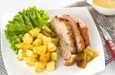 Reteta Piept de Porc la Cuptor cu Cartofi Aurii