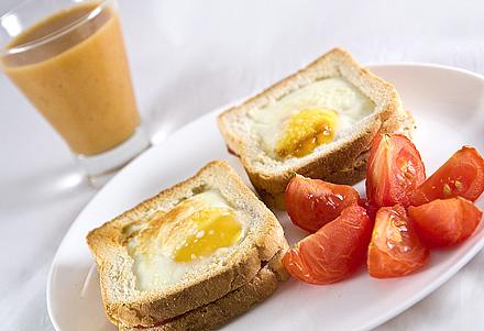 Reteta Sandwichuri cu Ou pentru Micul Dejun