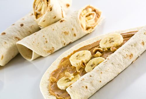 Reteta Sandwish cu Banane si Unt de Arahide