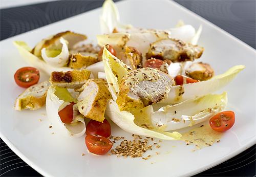 Salata de andive cu pui