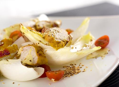 Salata de pui curry