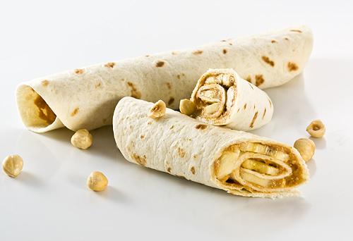 Sandwish cu Banane si Unt de Arahide