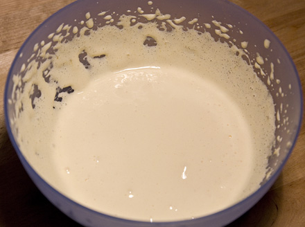 crema de tort cu frisca si mandarine