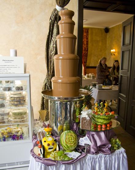 fantana de ciocolata - chocofest