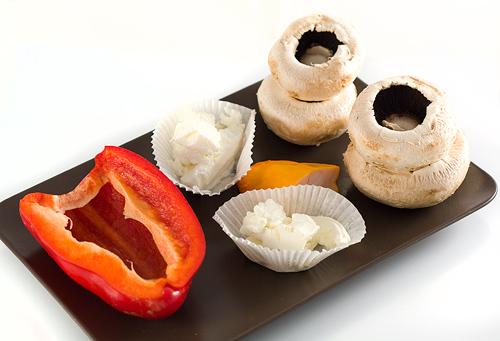 imgrediente umplutura ciuperci