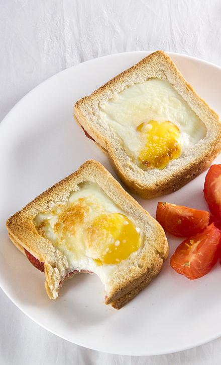 sadwichuri pentru micul dejun