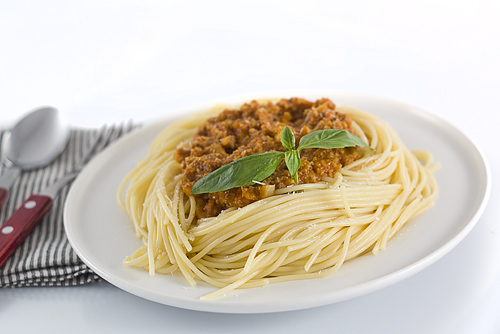 spaghete a la bolognese