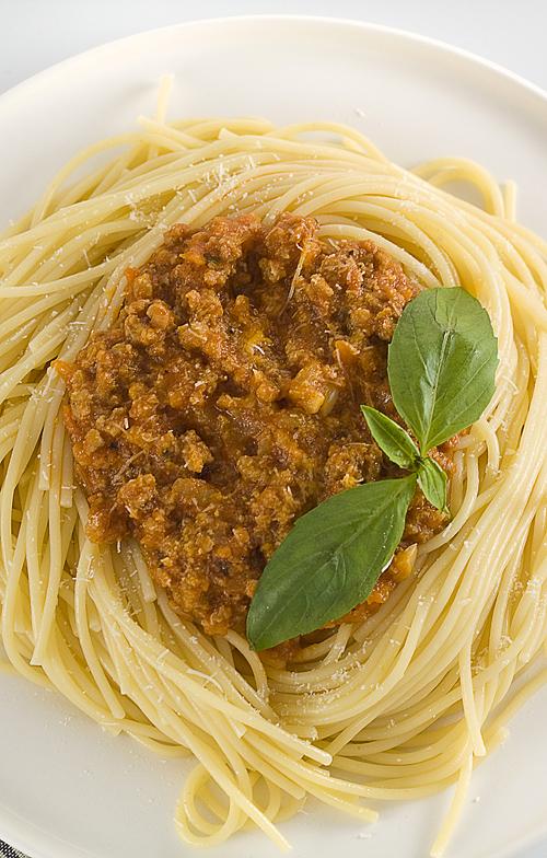 spaghete cu carne