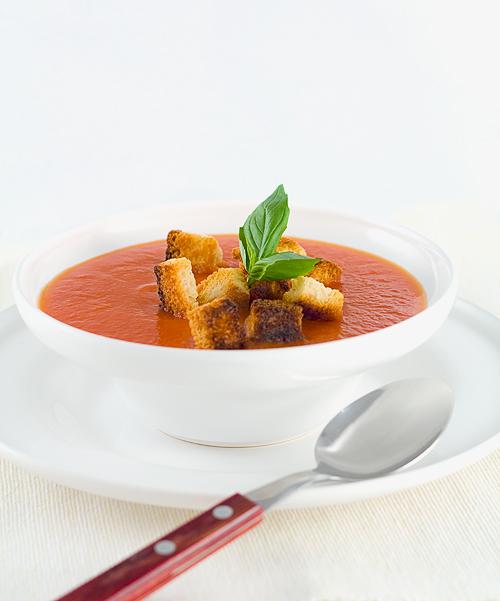 sugestie de prezentare supa de rosii